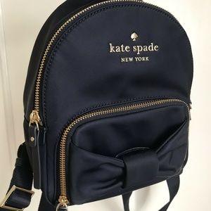 NWT Kate Spade Nylon Backpack watson lane bow